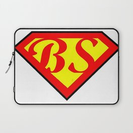 BS superhero Laptop Sleeve