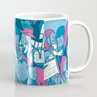 eternal sunshine Mugs featuring Eternal Sunshine of the Spotless Mind by Ale Giorgini