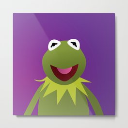 Kermit - Muppets Collection Metal Print