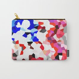 American Heart - Geometric Abstract Carry-All Pouch