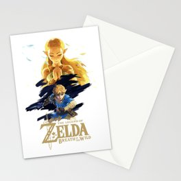 Zelda Breath of the Wild - The Silent Princess Stationery Cards