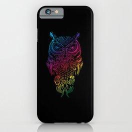 Owl, Barn Owl, starring iPhone Case