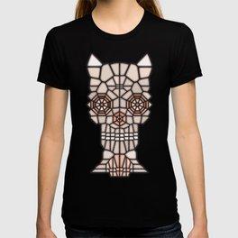 Demon skull voronoi T-shirt