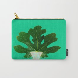 Fig Leaf Diamond Christmas Tree Carry-All Pouch