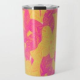 Geo Floral Travel Mug