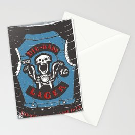 Die Hard Lager Stationery Cards
