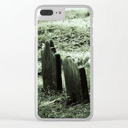 Franken - Grave Clear iPhone Case