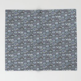 Mystic Eyes Throw Blanket