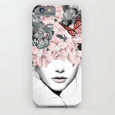WOMAN WITH FLOWERS 10 Slim Case iPhone 6s