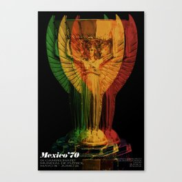 World Cup: Mexico 1970 Canvas Print