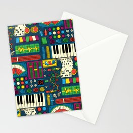 Magical Music Machine Stationery Cards