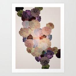 Florals // Pattern III Art Print