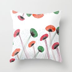 The Mushroom Throw Pillow