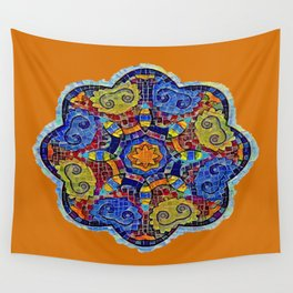 FLORAL ORB Wall Tapestry