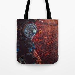 Night Cycle Tote Bag