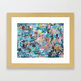 Abstract Expressionism 1 Framed Art Print