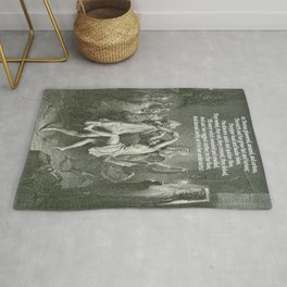 Tam O'Shanter Burns Night Celebrations Rug