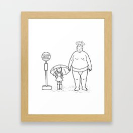 My Neighbor Rikishi Framed Art Print