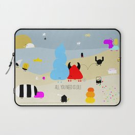 all you need is LOL Laptop Sleeve
