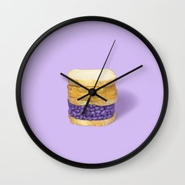 PB & Jelly Beans Wall Clock