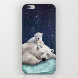 Polar Bears iPhone Skin