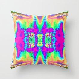 Technicolor Jacket Throw Pillow