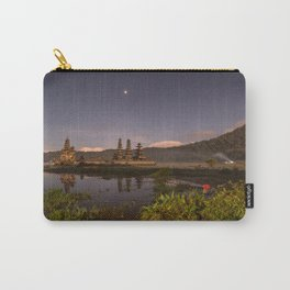 Tamblingan lake before sunrise, Bali - Indonesia Carry-All Pouch