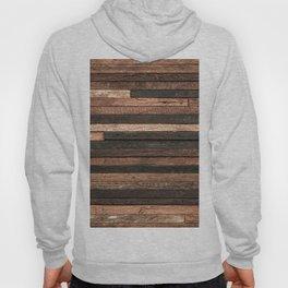 Vintage Wood Plank Hoody