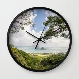 Lone Rock Wall Clock