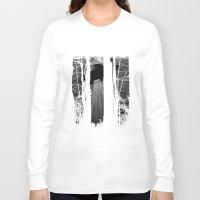 ufo Long Sleeve T-shirts featuring ufo by Natasha79