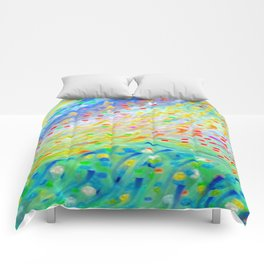 Sparkle Abstract Comforters