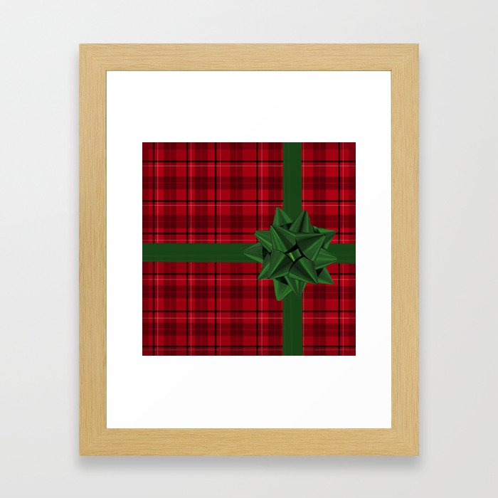 Christmas Gift Framed Art Print