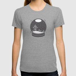 Halloween in a crystal ball T-shirt