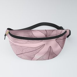 Crystal Leaves 3 Fanny Pack