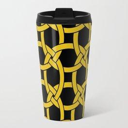 Circles in Knots Travel Mug