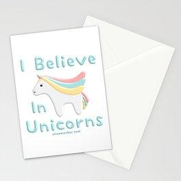 I Believe In Unicorns Stationery Cards