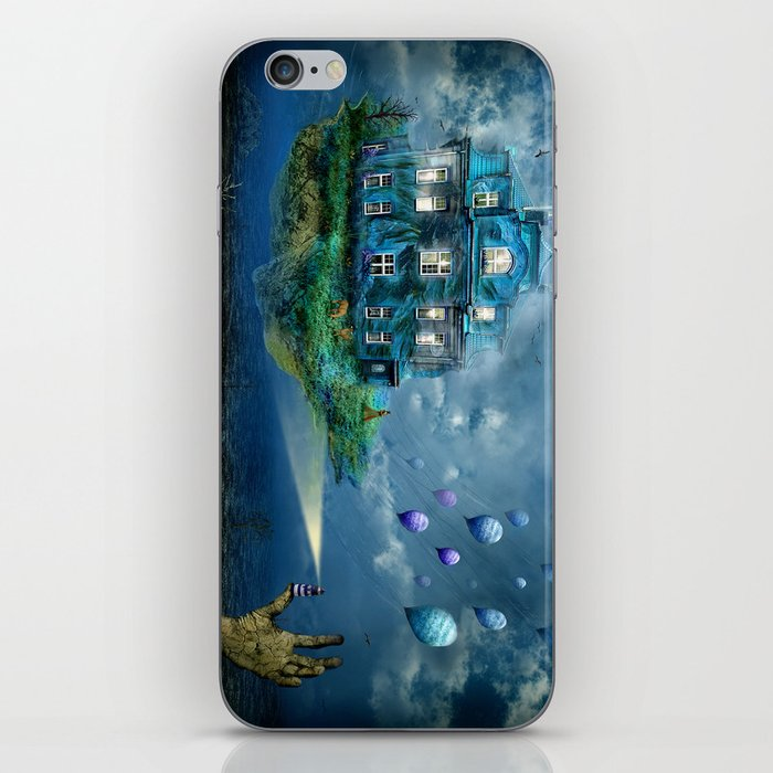 A journey with the wind iPhone Skin