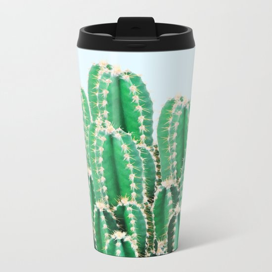 Kaktos || #society6 #decor #buyart Metal Travel Mug