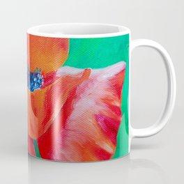 Single Poppy Coffee Mug