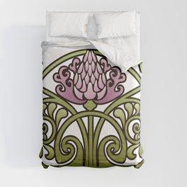 Nouveau Thistle Comforters