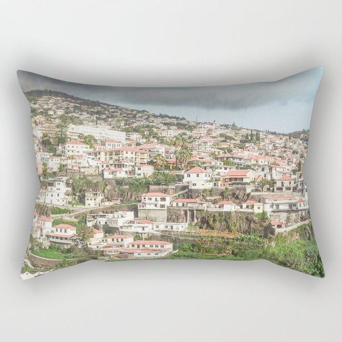 City of Funchal, Madeira Rectangular Pillow