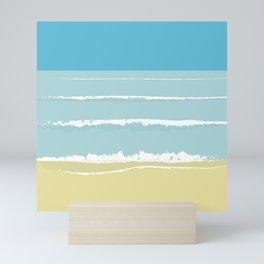 Sea view Mini Art Print