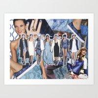 DKNY, Spring 2014 Art Print