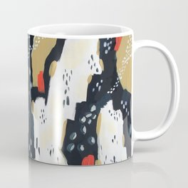 Spotted Abstract in Neutral Coffee Mug