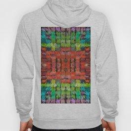 187 - colour abstract design Hoody