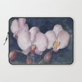 Orchids In the Evening Laptop Sleeve