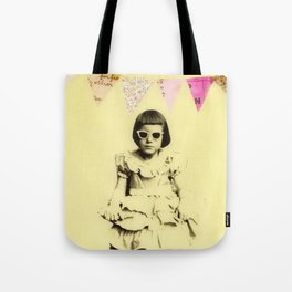 """Partially Amused"" Tote Bag"