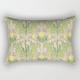 Desert Wallpaper Rectangular Pillow