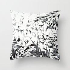 Guilt & Innocence Throw Pillow