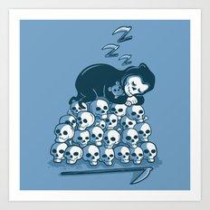 Grim Sleeper Art Print